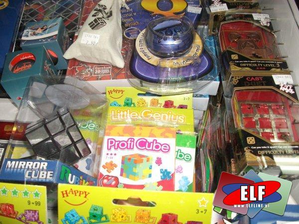 Kostki rubika, łamigłówki, układanki, G3, gry logiczne, kostka rubika