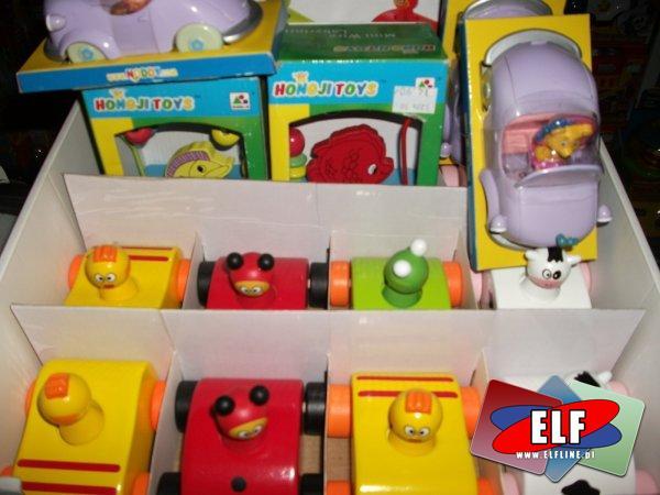 Zabawki drewniane, samochodziki drewniane