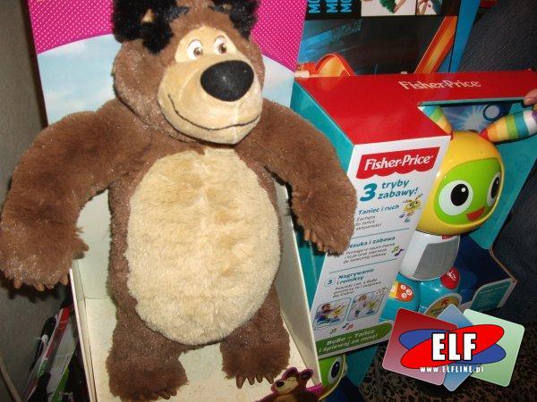 Masza, niedźwiedź pluszowy