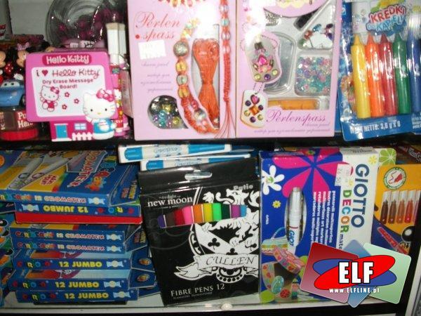 Zabawki i szkolne