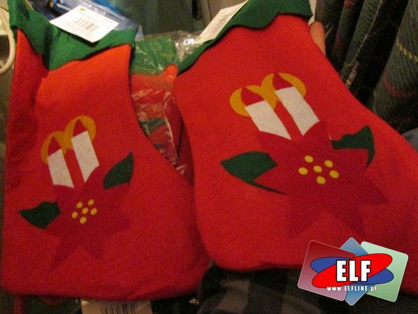 Skarpeta Mikołaja, skarpeta na prezent, prezenty, świąteczna, świąteczne