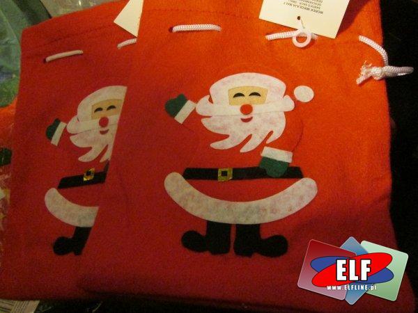 Worek Mikołaja, worki na prezent, prezenty, świąteczny, świąteczne