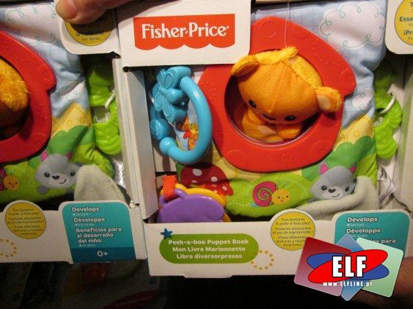 Fisher-Price książeczka miękka, książeczki miękkie