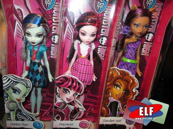 Lalki Monster High, lalka