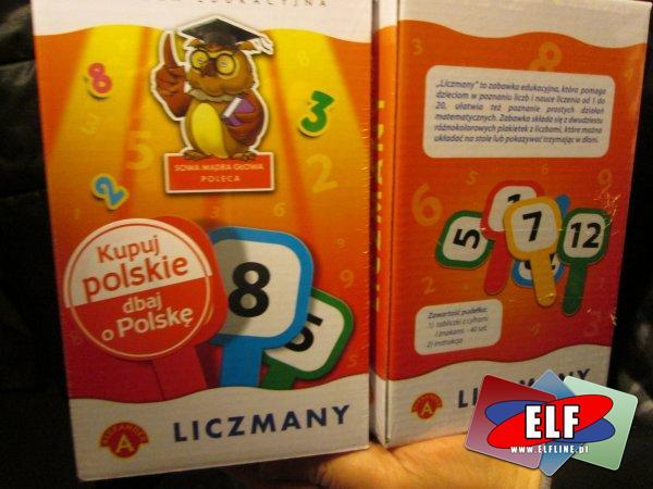 LICZMANY, liczman, gra edukacyjna, gry edukacyjne