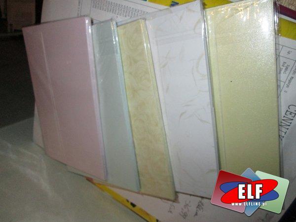 Koperty kolorowe, koperta kolorowa