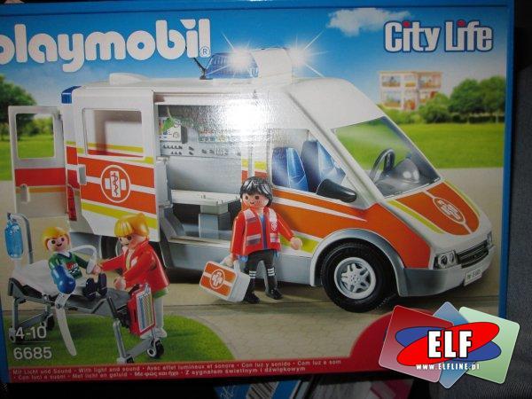 Playmobil, 6685 City Life Pogotowie ratunkowe, klocki