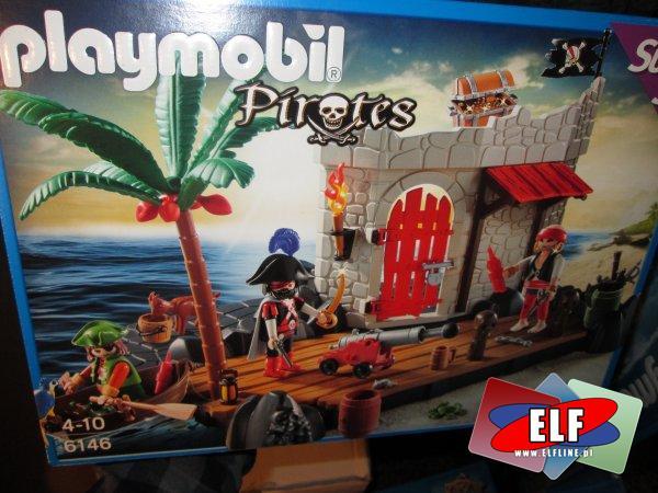 Playmobil, 6146 Twierdza Piratów, piraci, klocki