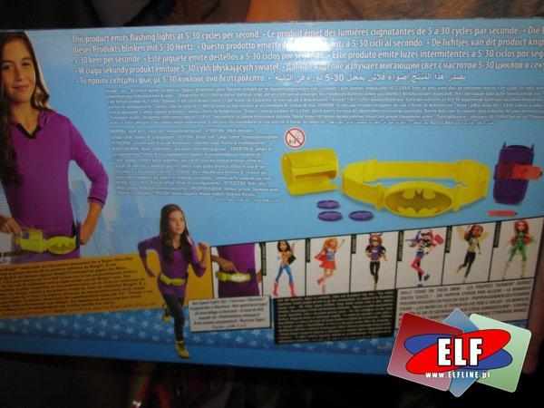 Pas Superbohaterki Barbie, pasy