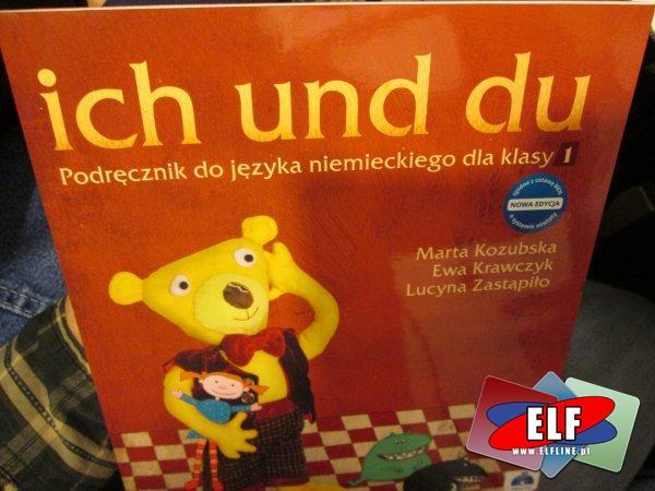 ich und du, podręcznik do nauki języka niemieckiego klasy 1