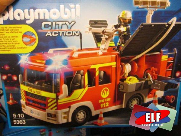 Playmobil City Action, 5363 Wóz strażacki, klocki