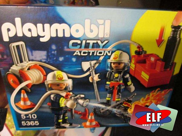 Playmobil, 5365 City Action Strażacy z hydrantem, klocki