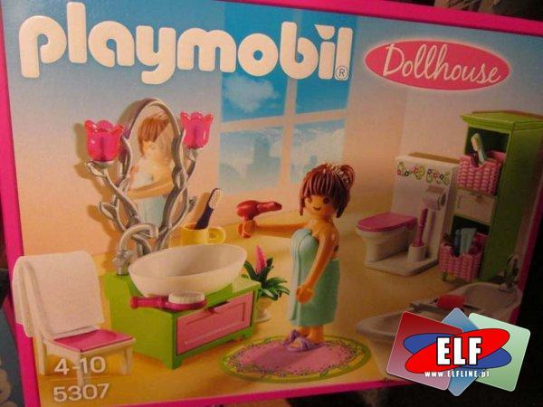Playmobil, 5570 City Life Kącik dla dzieci, 5309 Sypialnia z toaletką, 5308 Pokój dzienny z kominkiem, 5306 Kolorowy pokój dziecięcy, 53...