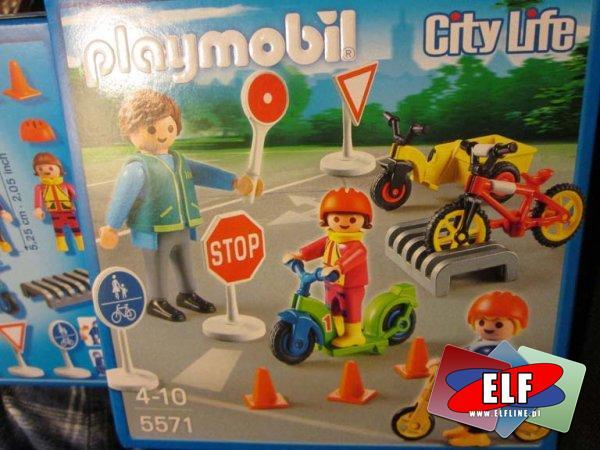 Playmobil, 5571 Bezpiecznie na drodze, klocki