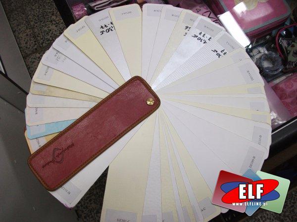 Papier wizytówkowy wzornik