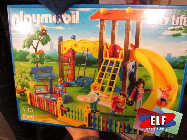 Playmobil, 5568 Plac zabaw dla dzieci, klocki