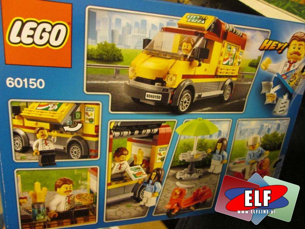 Lego City 60150 Foodtruck Z Pizzą 60151 Tra W Sklepie Elf
