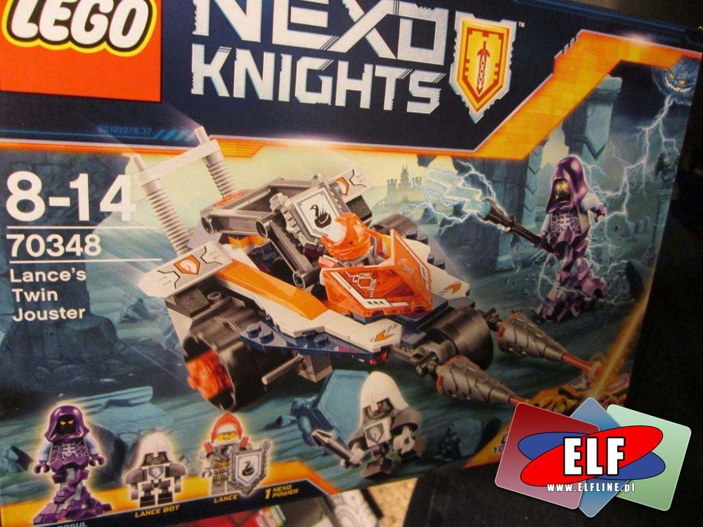 Lego Nexo Knights, 70348 Bojowy pojazd Lance a, klocki
