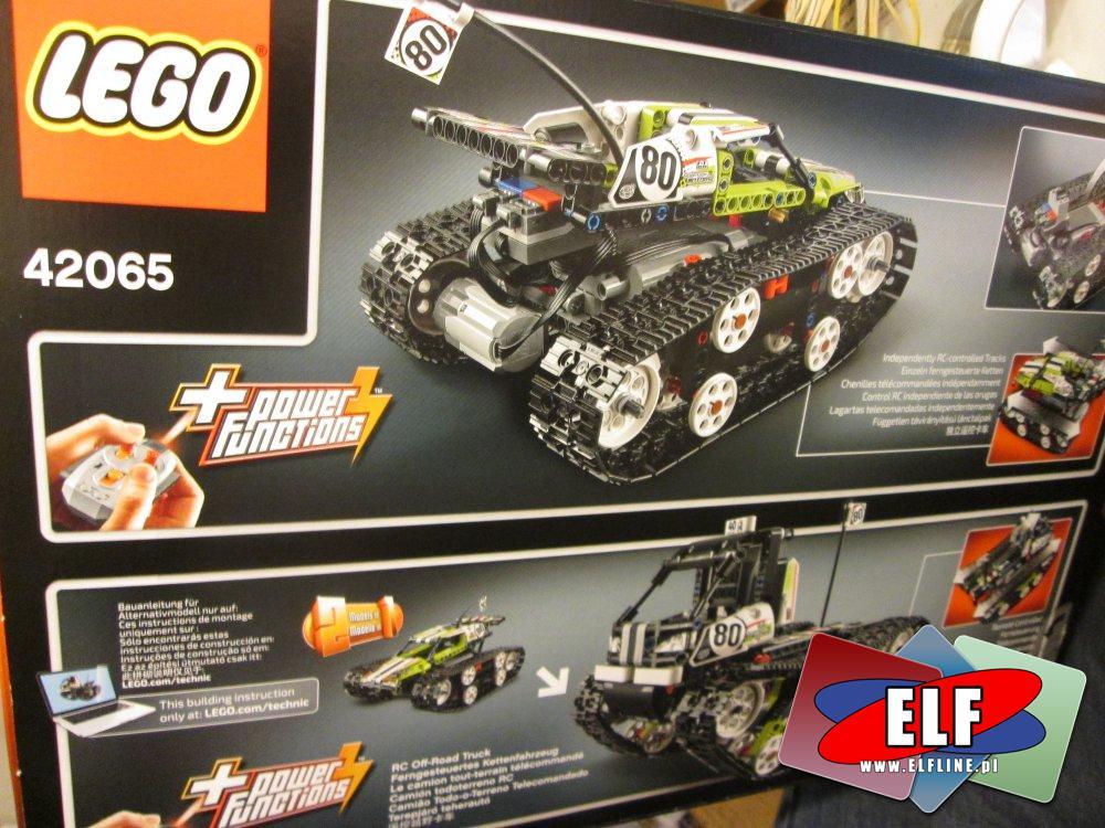 Lego Technic, 42065 Zdalnie sterowana wyścigówka gąsienicowa, klocki