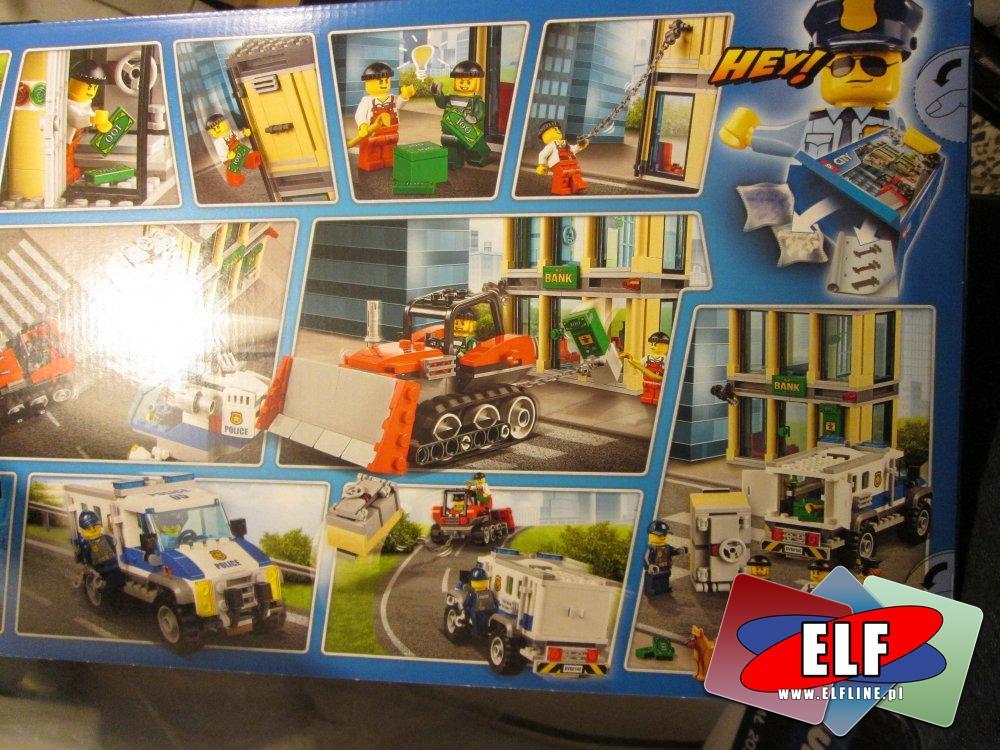 Lego City, 60140 Włamanie buldożerem, klocki