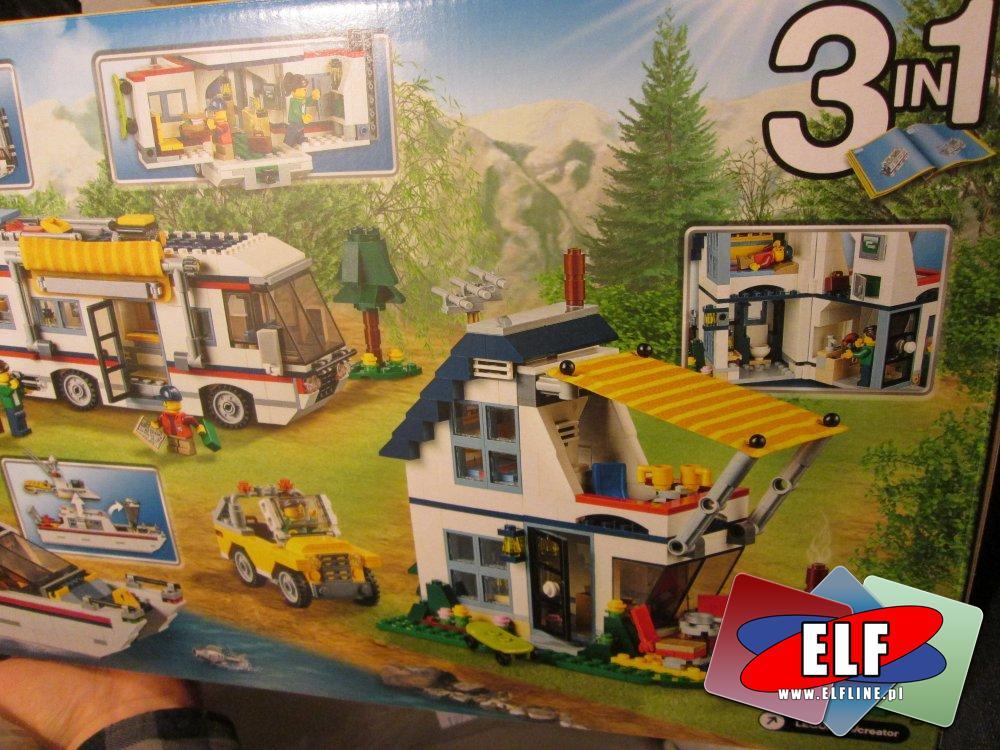 Lego Creator, 31052 Wyjazd na wakacje, klocki