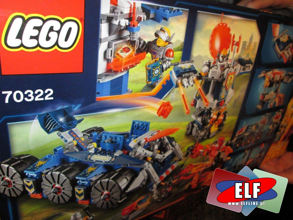 Lego Ninjago, 70626 Świt Żelaznego Fatum, 70322 Pojazd Axla, klocki