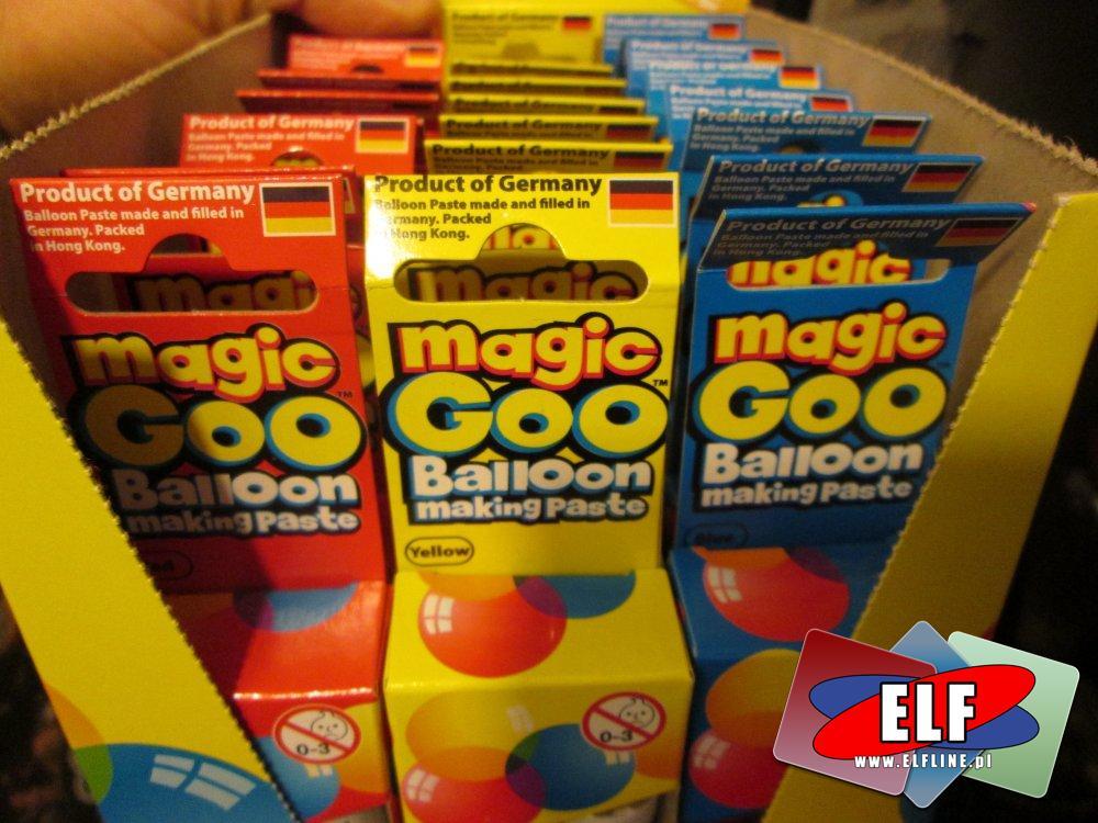 Magi Goo, pasta do robienia balonów, balony