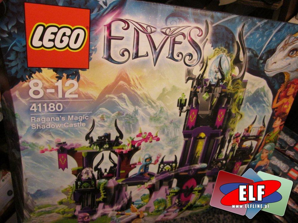 Lego Elves, 41172 Przygoda Smoka Wody, 41179 Na ratunek królowej smoków, 41175 Jaskinia Smoka Ognia, 41180 Magiczny Zamek Ragany, klocki
