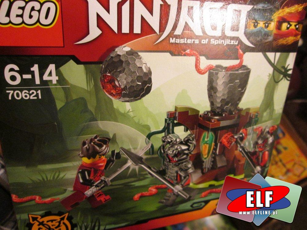 Lego Ninjago, 70621 Atak Cynobru, klocki