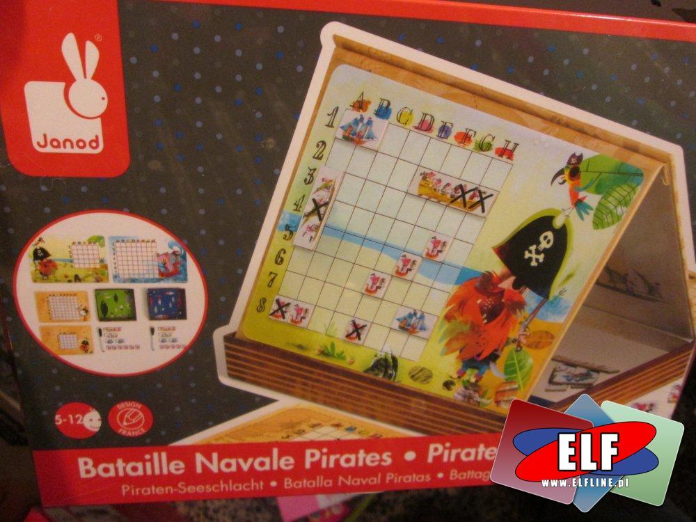 Janod, gra, statki, piraci, gry