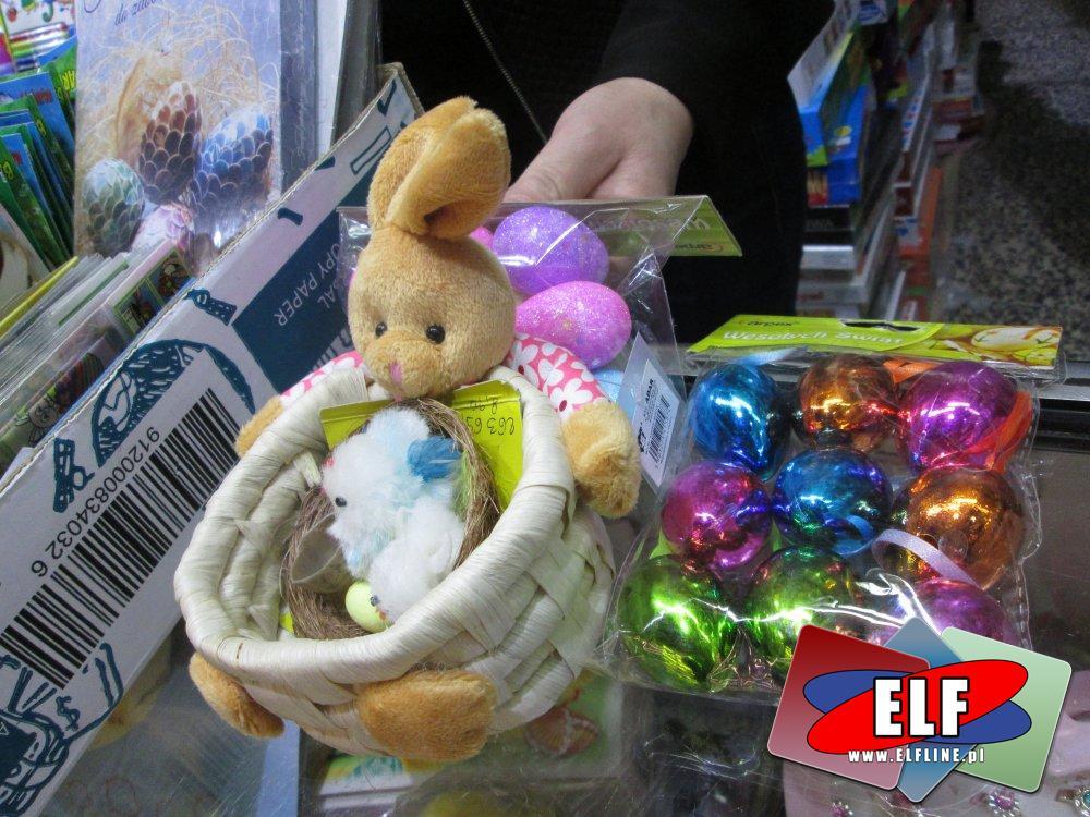 Zajączek Wielkanocny, farbki do kolorowania pisanek i ozdoby Wielkanocne, jajeczko, jajeczka, ozdoba, Wielkanocna, Świeczka, Świeczki i inne
