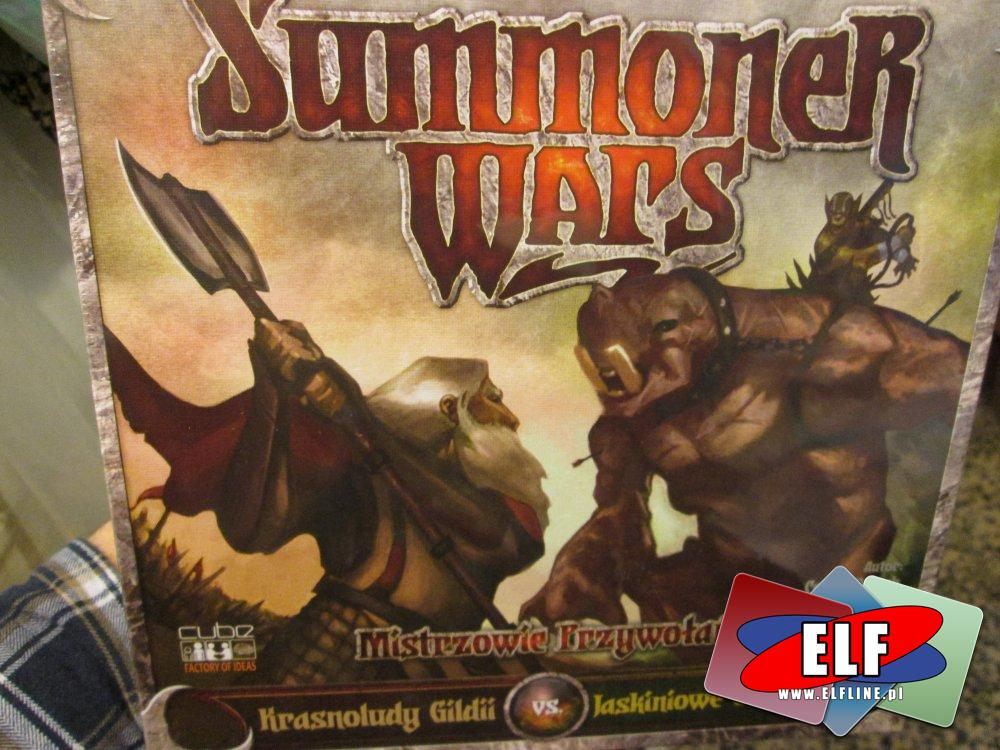 Gra Summoner Wars, Gry, Krasnoludy gildii vs Jaskiniowe Gobliny, Elfy feniksa vs Tundrowe Orki