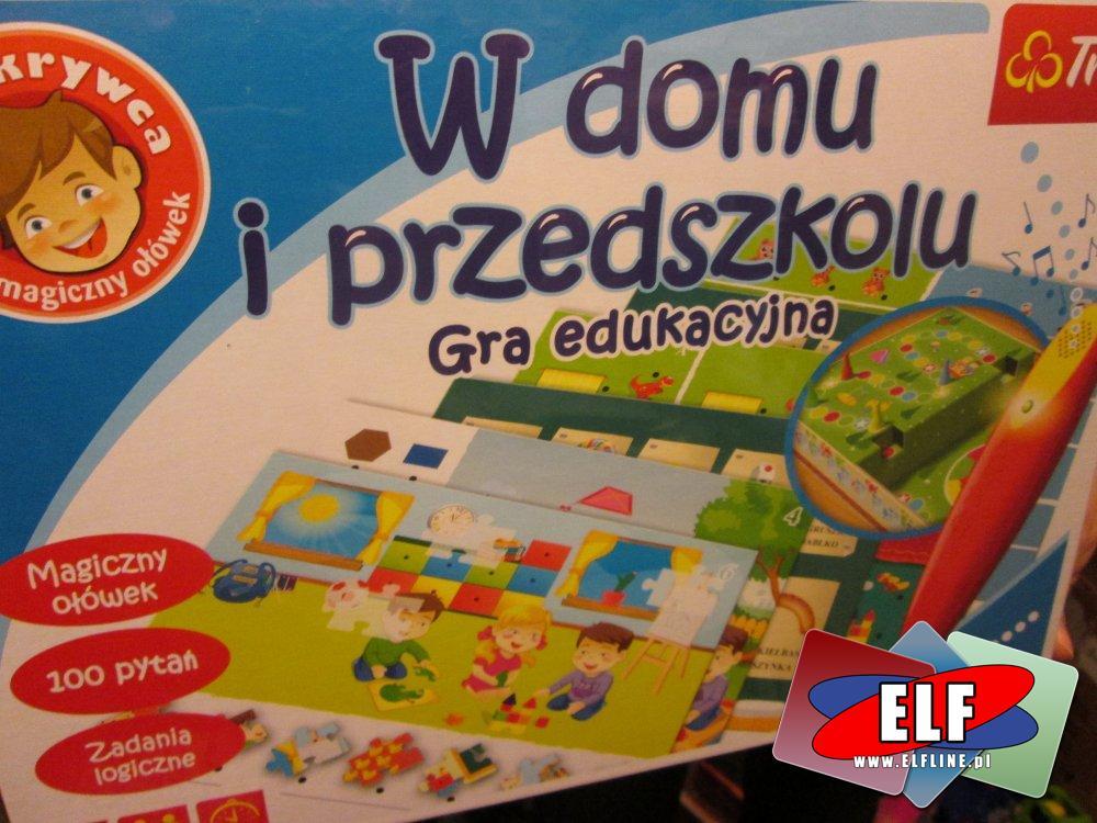 Gra edukacyjna, Na wsi, W domku i przedszkolu, Gry edukacyjne, magiczny ołówek