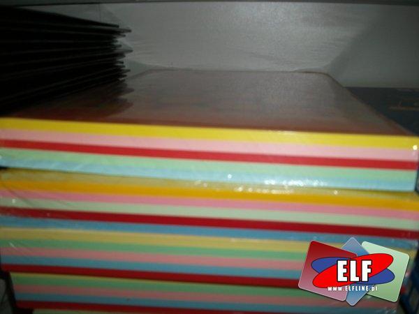 Papier xero mix kolor i etykiety samoprzylepne