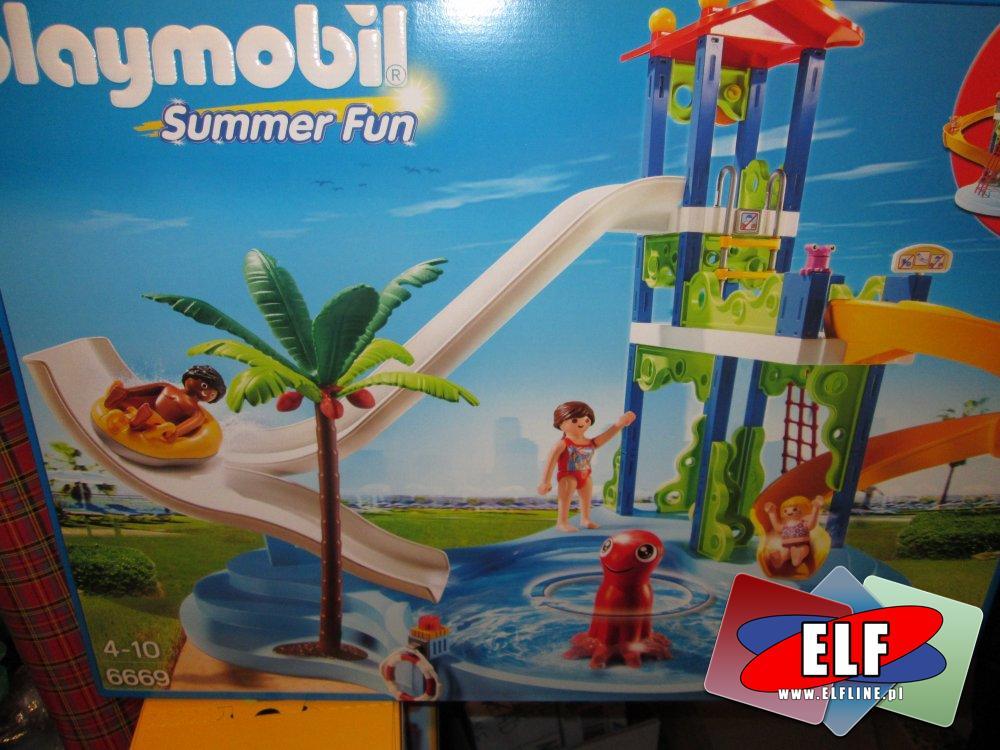 Playmobil Summer, Lato, Wakacje, 6669, 6670, klocki
