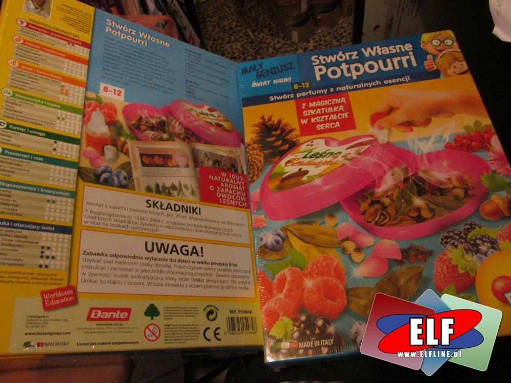 Potpourri, Stwórz własne Potpourri