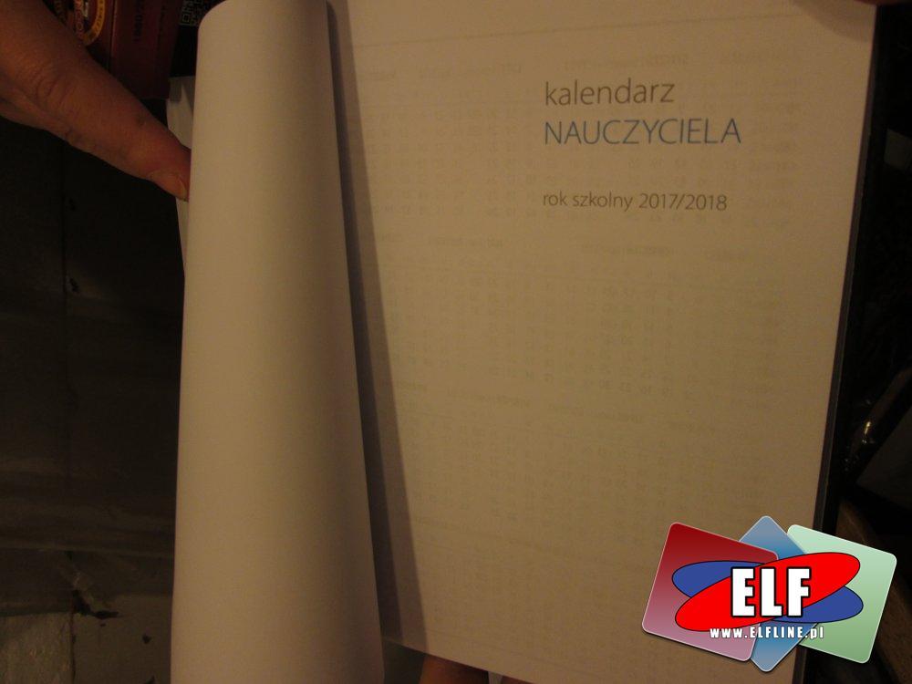 Kalendarz nauczyciela, kalendarze dla nauczycieli, szkolne, szkolny