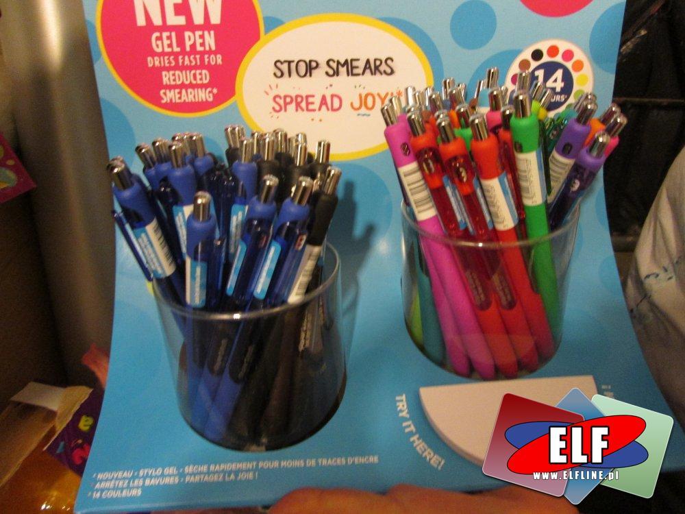 Długopis, Długopisy, żelowy, żelowe, stop smears, żelowe długopisy, długopis żelowy