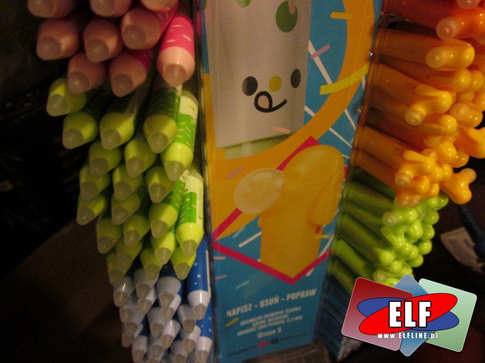 Happy Color, Długopisy które cieszą, długopis, napisz, usuń, popraw