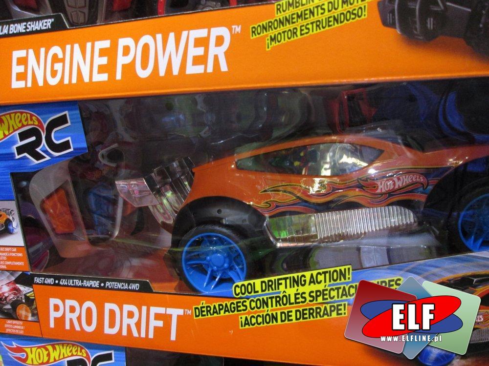 Hot Wheels, Samochód zdalnie sterowany, zdalnie sterowane samochody, auto, auta, RC, na radio, pilota, pojazd, pojazdy