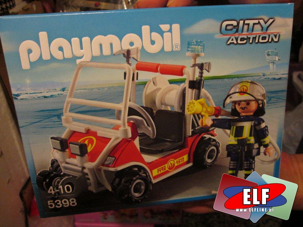 Playmobil 5398, Quad straży pożarnej, straż pożarna, zabawka, zabawki, zabawkowa