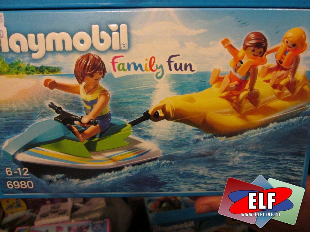 Playmobil 6980, Jet ski z bananową łódką, zabawka, zabawki, zabawkowa