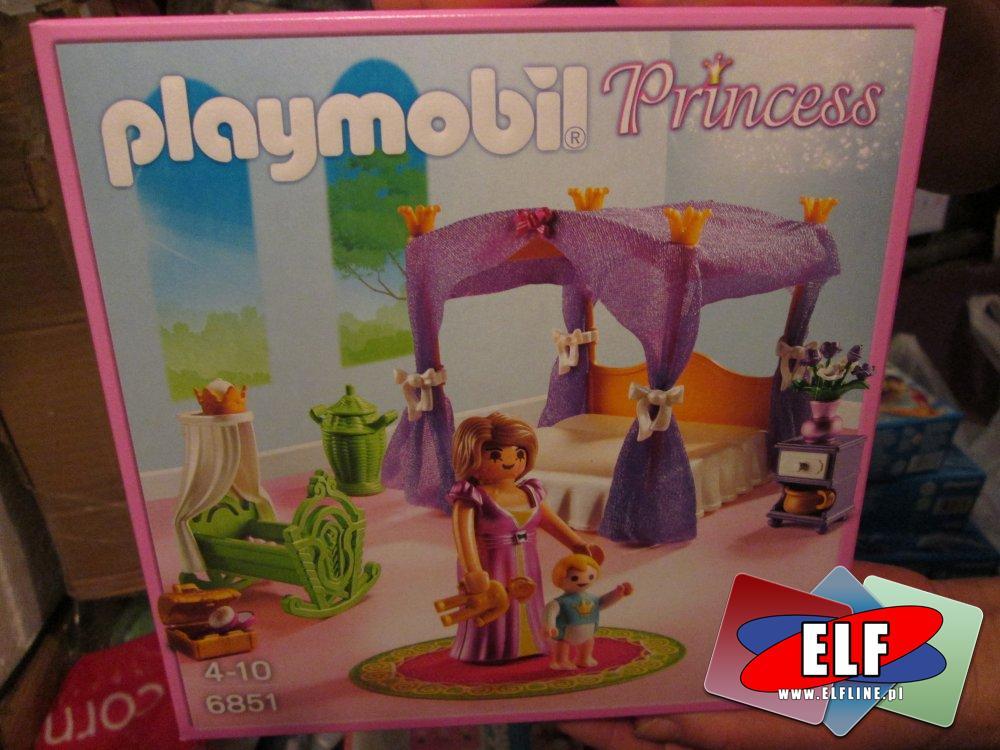 Playmobil 6851, Niebiańska sypialnia księżniczki, zabawka, zabawki, zabawkowa