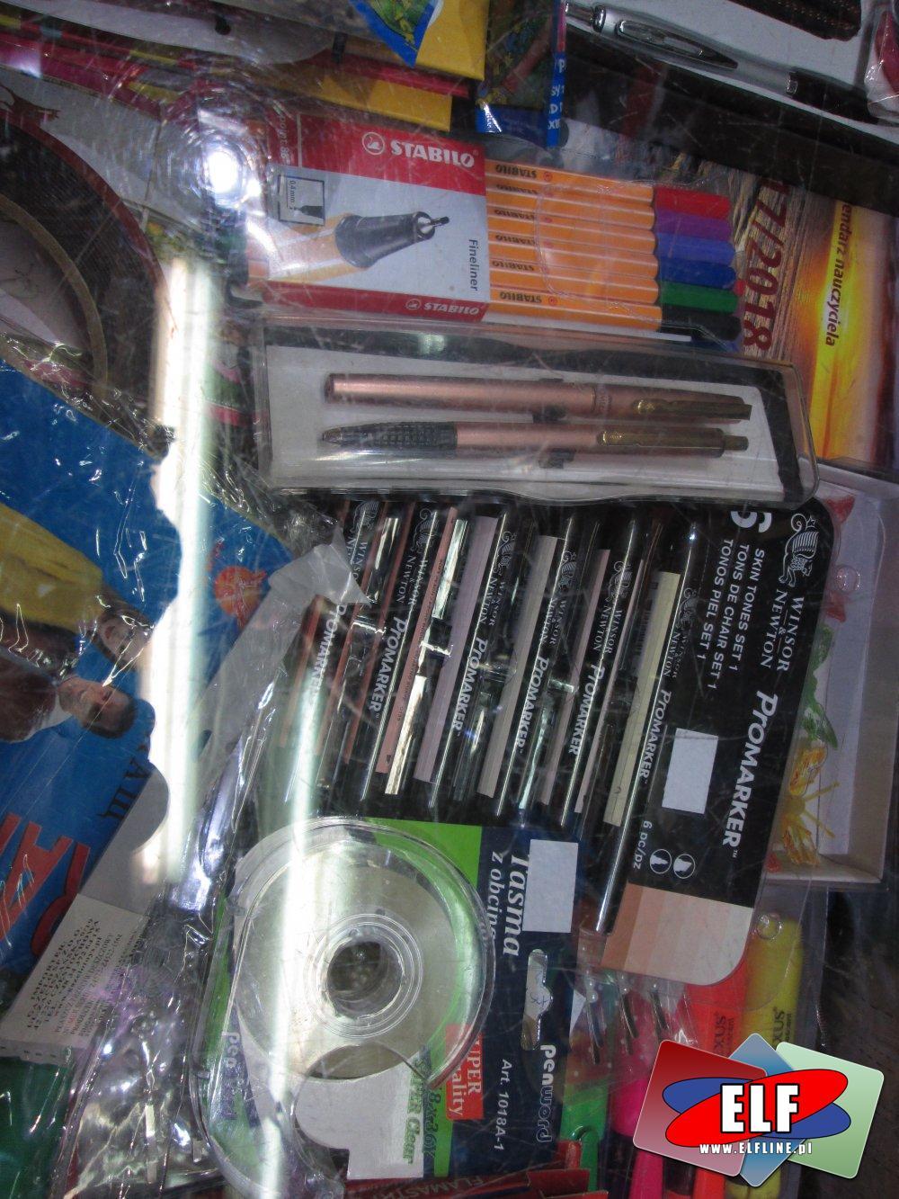 Długopisy, Pisaki, Cienkopisy, Długopis, Pisak, Cienkopis