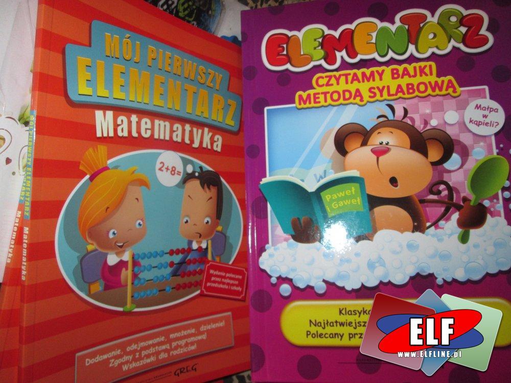 Książki edukacyjne dla dzieci, Podręcznik szkolny, książka edukacyjna, Elementarz, podręczniki szkolne