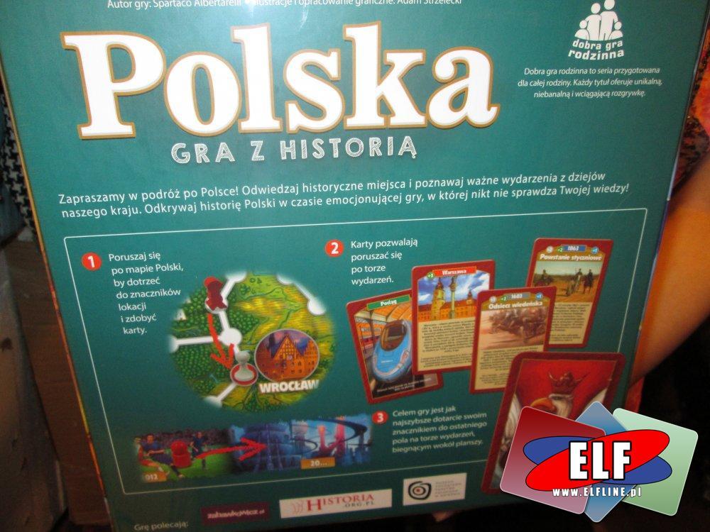 Gra polska gra z historią, Gry