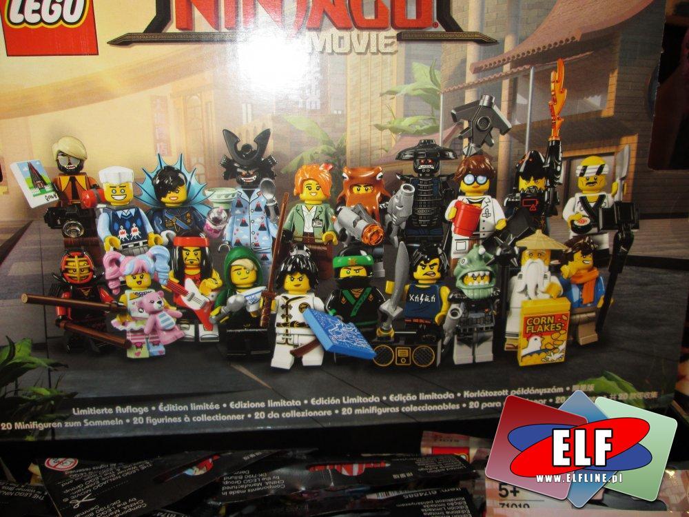 Lego Ninjago, figurki, klocki, saszetki, saszetka, figurka