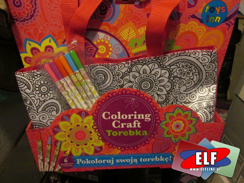 Torebka to pokolorowania, pomalowania, kreatywna, kreatywne