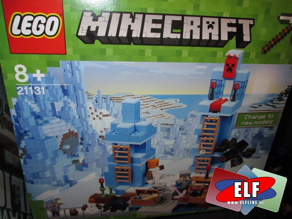 Lego Minecraft, 21135, 21131, klocki