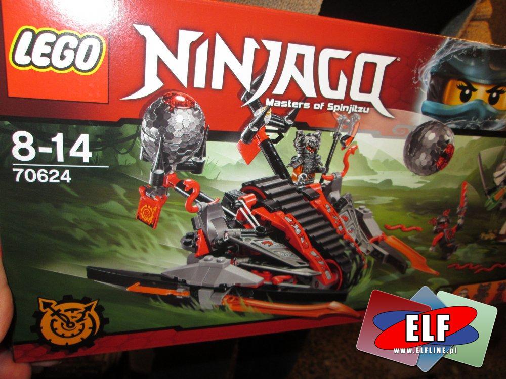 Lego Ninjago, 70624, 70611, 70608, klocki